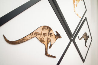 M. Chat and Phil Hayes: Talking Animals, installation view