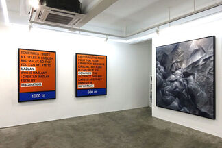 Locating Malaysian Contemporary Art: The Echo Boomers, installation view