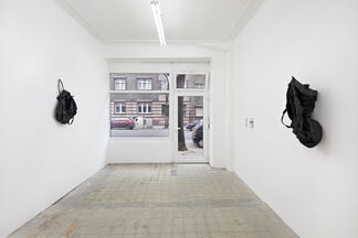 Something that starts somewhere and goes nowhere., installation view