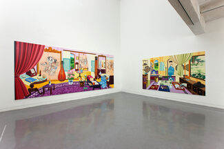 Kyungmin NAM - Staying in the Mindscape, installation view
