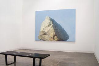 Emily Davis Adams: Painting of Levitated Mass, installation view