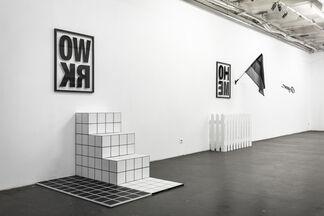 LOW BROS: CON.TXT, installation view