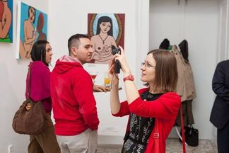 Amor Pop-esque au Marzipan, installation view