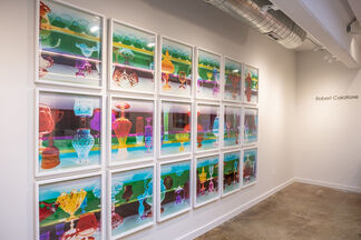 Glass Relics, installation view