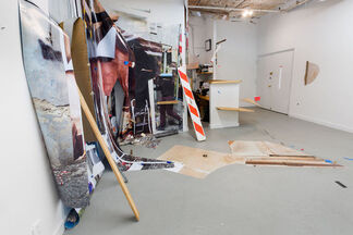 Small Dance or the Space of my Body, installation view