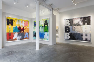 Mel Bochner, Recent Prints, installation view