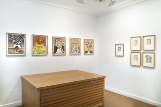 Pierre Alechinsky : Prints from the 1960s and 1970s, installation view