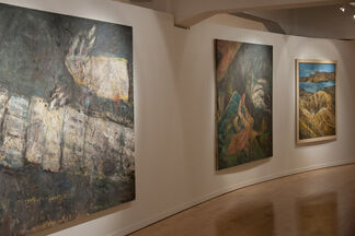 Minas Retrospective, installation view