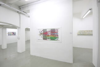 Ward Shelley: State of Things // Lo stato delle cose, installation view