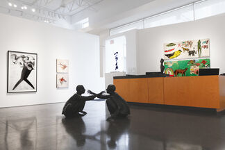 """""""G'ddy up!"""" - Group Exhibition, installation view"""