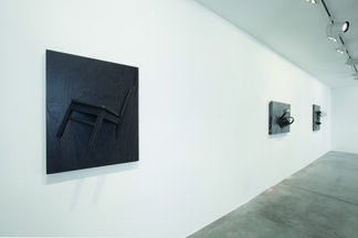 Arman: Emersions, installation view
