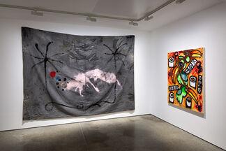 Katherine Bernhardt and José Luis Vargas: VOODOO MAYO KETCHUP, installation view