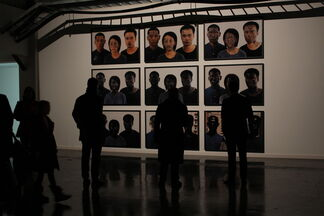 Like thunder out of China, installation view