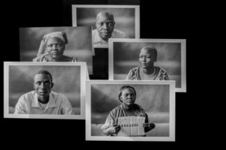 Fundraiser -  the Lost Boys and Girls of Sudan in Kakuma, a refugee camp in Kenya, installation view