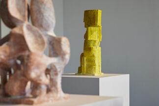 Ryosuke Yazaki's Mikakiuchi: Sculpture and Space, installation view