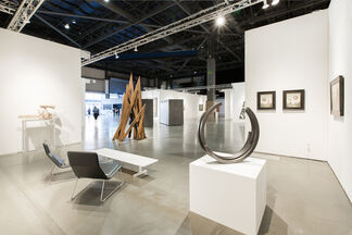 Paul Kasmin Gallery at Seattle Art Fair 2016, installation view