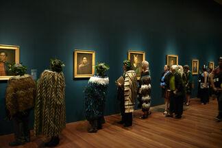Māori Portraits: Gottfried Lindauer's New Zealand, installation view