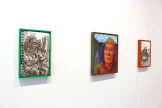 July 2017 - Jonny Negron & Eric Wiley & Maureen Gubia, installation view