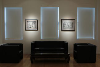 Calligraphy by Inoue Yūichi, installation view