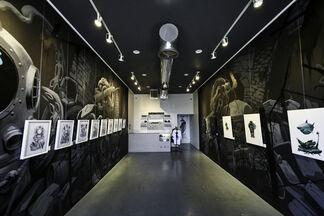 Saturno the Creatter Solo Show: Depths of LA, installation view