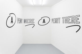 LAWRENCE WEINER - WITHIN GRASP, installation view