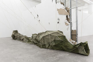 Marching in Circles, installation view