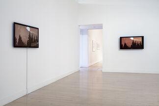 Kota Ezawa: The Curse of Dimensionality, installation view