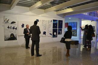 Scandinavia Art Month, installation view