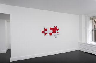 """William Anastasi """"Puzzle"""", installation view"""