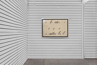 """""""If on a Winter's Night a Traveler"""", installation view"""