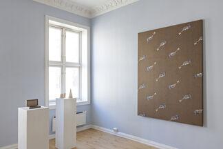 VI, VII at CHART   ART FAIR 2014, installation view