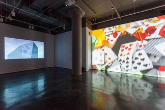 Nadia Hironaka and Matthew Suib: Mirrors, Marks & Loops, installation view