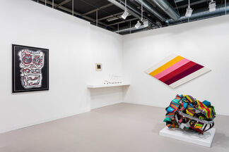 Waddington Custot at Art Basel 2017, installation view