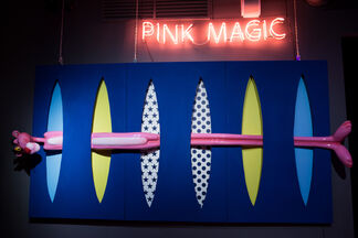 """PINK MAGIC"" BY OLGA LOMAKA, installation view"