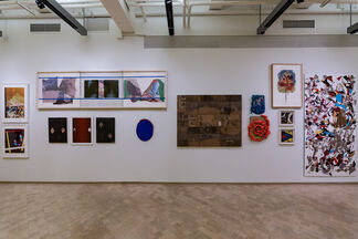 CUT N' MIX: Contemporary Collage, installation view