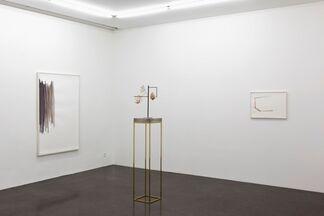 Silvia Bächli / Carol Bove, installation view