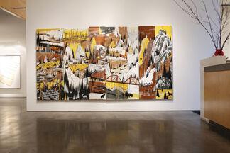 """Jeff Nachtigall: """"Wild Men"""", installation view"""
