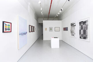 FLAT FILE, installation view
