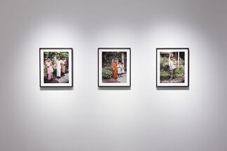 """Laura McPhee """"The Home and the World, a View of Calcutta"""", installation view"""