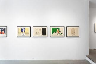 TOSHIO SAEKI, installation view