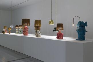 "Eric Croes - ""Ni Gris ni Vert"", installation view"