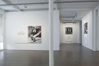 John Baldessari - Scene ( ) / Take ( ), installation view