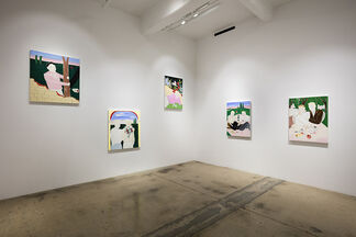 Crome Yellow, installation view