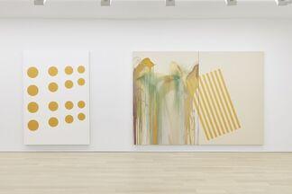 John M Armleder, installation view