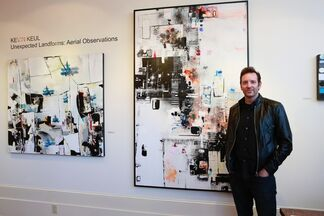 Unexpected Landforms: Aerial Observations, installation view