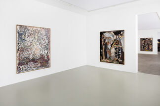 And in That Place He Did Succumb to What  Was Offered, installation view