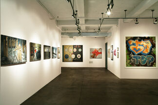 TEXTURES: The Written Word in Contemporary Art, installation view