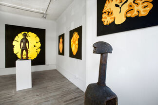 Black Diamonds: New Works by Francis Acea, installation view