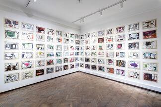Anthony Corner. Lamentation, Flux and an Empty Bladder, installation view