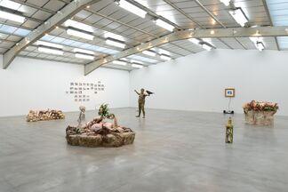 Enrique Marty - Reinterpretada Reinterpreted, installation view